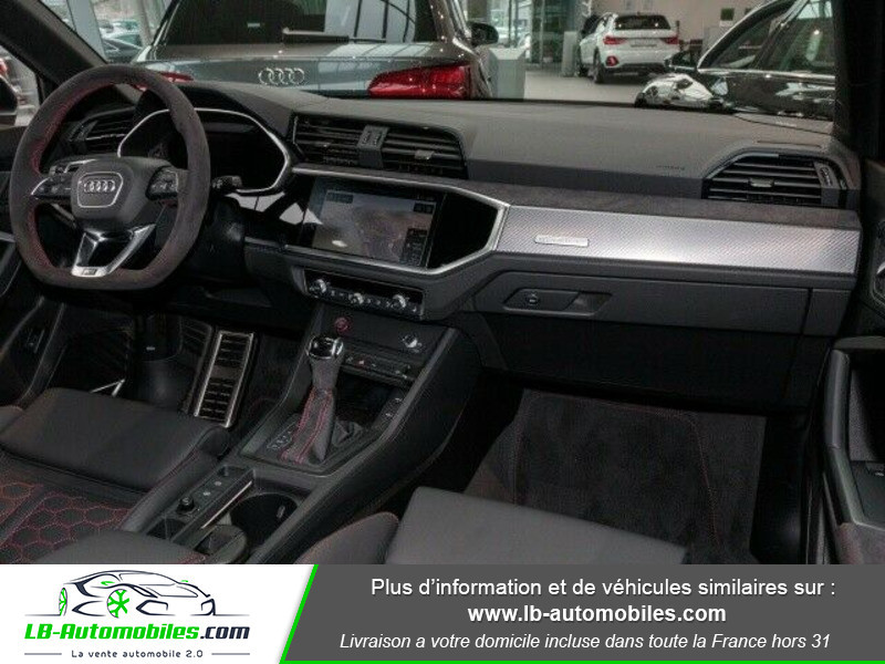 Audi RS Q3 3 Sportback 2.5 TFSI 400 ch S tronic 7 Gris occasion à Beaupuy - photo n°2