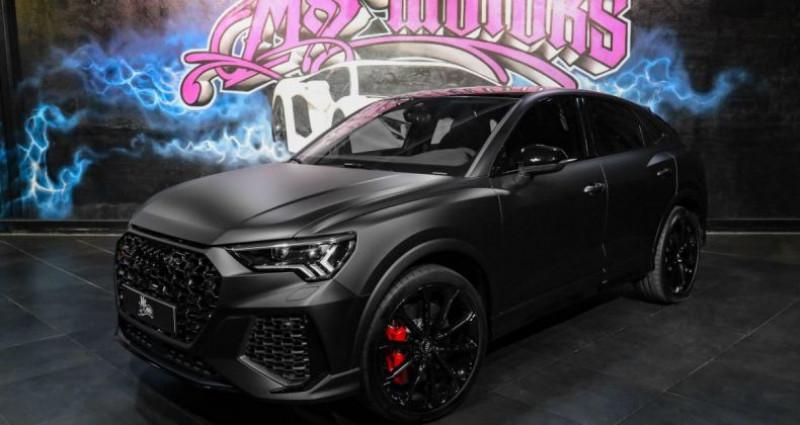 Audi RS Q3 SPORTBACK 2.5 TFSI 400CV DSG7 Noir occasion à CANNES