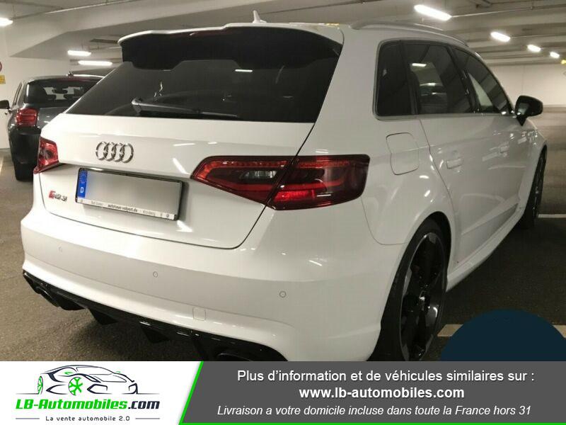 Audi RS3 Sportback 2.5 TFSI 367 / Quattro S-Tronic 7 Blanc occasion à Beaupuy - photo n°3