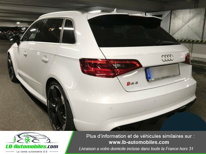 Audi RS3 Sportback 2.5 TFSI 367 / Quattro S-Tronic 7 Blanc occasion à Beaupuy - photo n°11