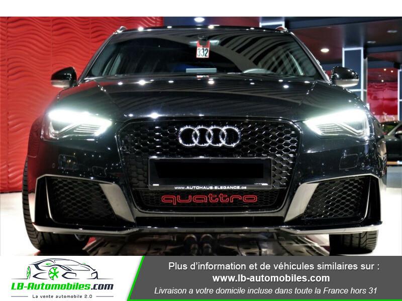 Audi RS3 Sportback 2.5 TFSI 367 / Quattro S-Tronic 7 Noir occasion à Beaupuy - photo n°12