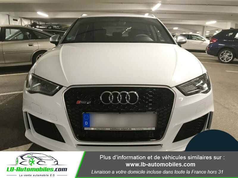 Audi RS3 Sportback 2.5 TFSI 367 / Quattro S-Tronic 7 Blanc occasion à Beaupuy - photo n°10