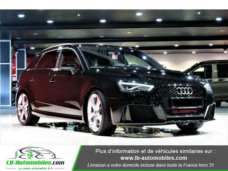 Audi RS3 Sportback 2.5 TFSI 367 / Quattro S-Tronic 7 Noir occasion à Beaupuy - photo n°13