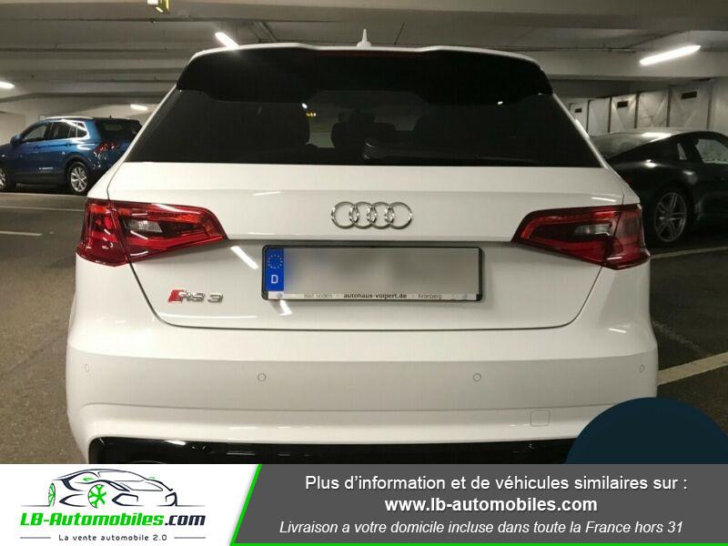 Audi RS3 Sportback 2.5 TFSI 367 / Quattro S-Tronic 7 Blanc occasion à Beaupuy - photo n°9