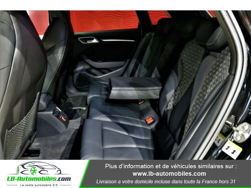 Audi RS3 Sportback 2.5 TFSI 367 / Quattro S-Tronic 7 Noir occasion à Beaupuy - photo n°9