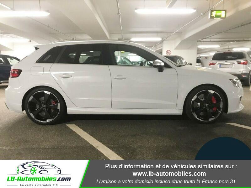 Audi RS3 Sportback 2.5 TFSI 367 / Quattro S-Tronic 7 Blanc occasion à Beaupuy - photo n°8