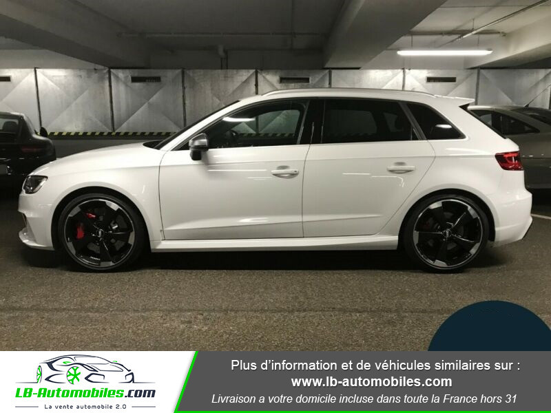 Audi RS3 Sportback 2.5 TFSI 367 / Quattro S-Tronic 7 Blanc occasion à Beaupuy - photo n°7