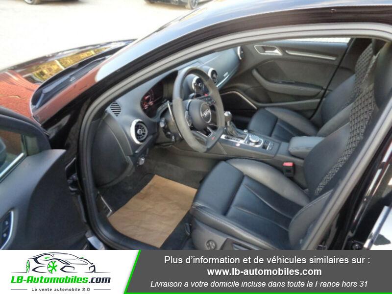 Audi RS3 Sportback 2.5 TFSI 400 / Quattro S-Tronic 7 Noir occasion à Beaupuy - photo n°7