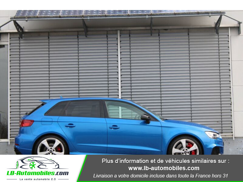 Audi RS3 Sportback 2.5 TFSI 400 S tronic 7 Quattro Bleu occasion à Beaupuy - photo n°17