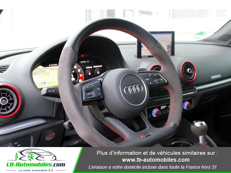 Audi RS3 Sportback 2.5 TFSI 400 S tronic 7 Quattro Bleu occasion à Beaupuy - photo n°10