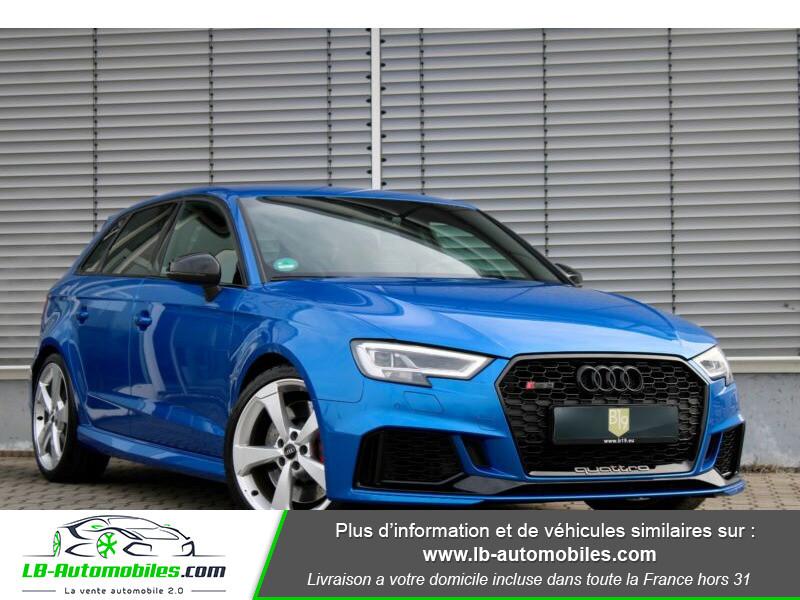 Audi RS3 Sportback 2.5 TFSI 400 S tronic 7 Quattro Bleu occasion à Beaupuy - photo n°20