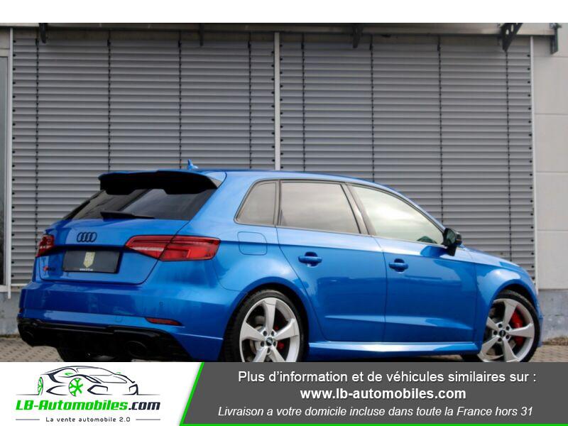 Audi RS3 Sportback 2.5 TFSI 400 S tronic 7 Quattro Bleu occasion à Beaupuy - photo n°3