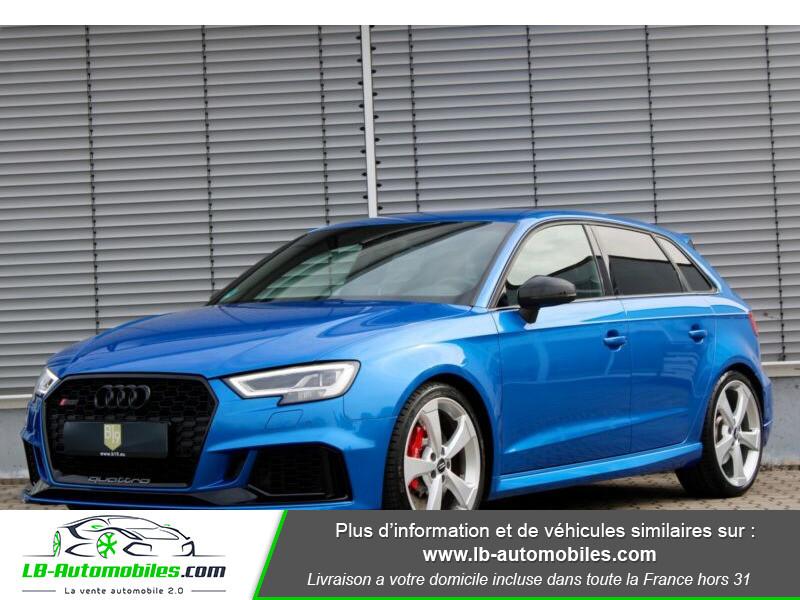 Audi RS3 Sportback 2.5 TFSI 400 S tronic 7 Quattro Bleu occasion à Beaupuy