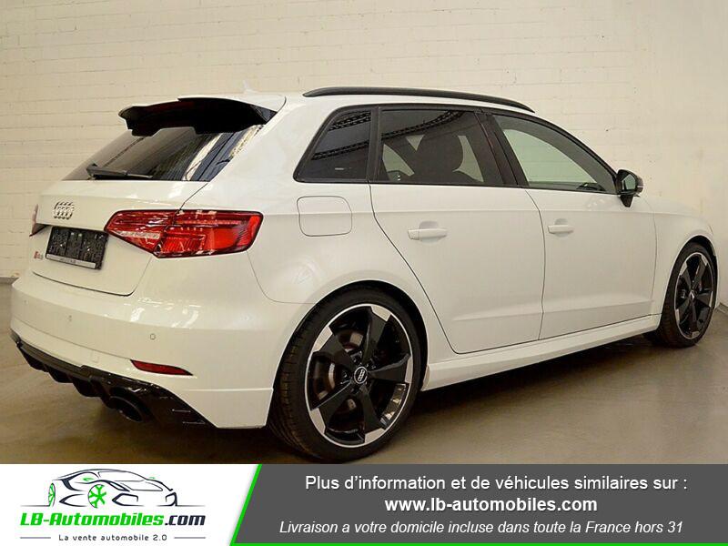 Audi RS3 Sportback 2.5 TFSI 400 S tronic 7 Quattro Blanc occasion à Beaupuy - photo n°3