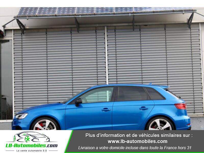 Audi RS3 Sportback 2.5 TFSI 400 S tronic 7 Quattro Bleu occasion à Beaupuy - photo n°16