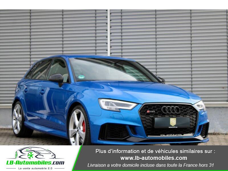Audi RS3 Sportback 2.5 TFSI 400 S tronic 7 Quattro Bleu occasion à Beaupuy - photo n°19