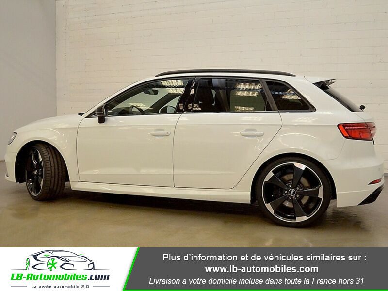 Audi RS3 Sportback 2.5 TFSI 400 S tronic 7 Quattro Blanc occasion à Beaupuy - photo n°18