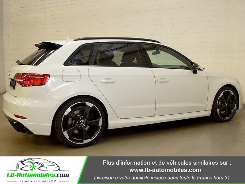 Audi RS3 Sportback 2.5 TFSI 400 S tronic 7 Quattro Blanc occasion à Beaupuy - photo n°13