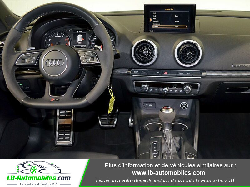 Audi RS3 Sportback 2.5 TFSI 400 S tronic 7 Quattro Blanc occasion à Beaupuy - photo n°2