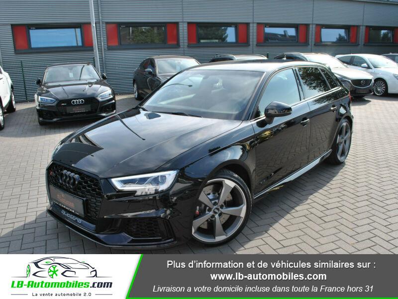 Audi RS3 Sportback 2.5 TFSI 400 S tronic 7 Quattro Noir occasion à Beaupuy