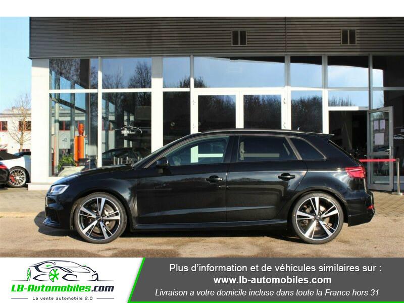 Audi RS3 Sportback 2.5 TFSI 400 S tronic 7 Quattro Noir occasion à Beaupuy - photo n°19