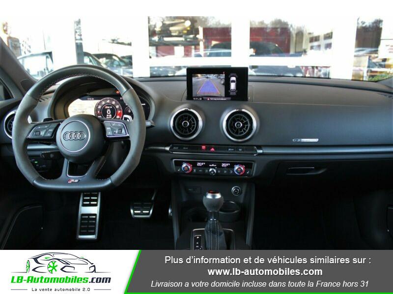 Audi RS3 Sportback 2.5 TFSI 400 S tronic 7 Quattro Noir occasion à Beaupuy - photo n°2