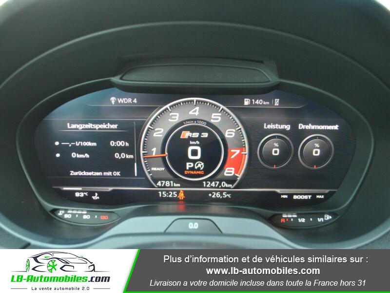 Audi RS3 Sportback 2.5 TFSI 400 S tronic 7 Quattro Noir occasion à Beaupuy - photo n°12