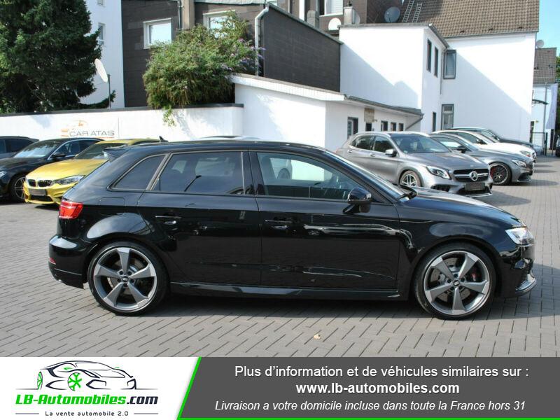 Audi RS3 Sportback 2.5 TFSI 400 S tronic 7 Quattro Noir occasion à Beaupuy - photo n°14