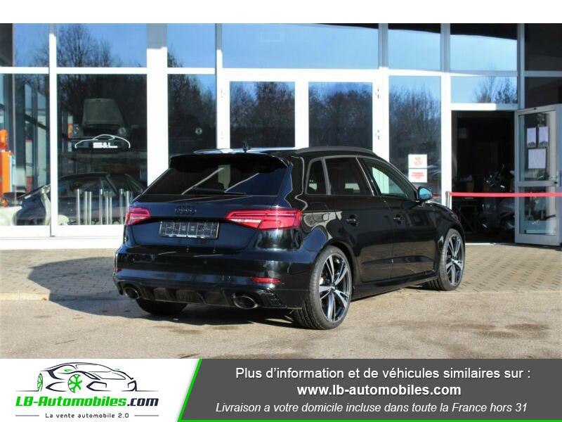 Audi RS3 Sportback 2.5 TFSI 400 S tronic 7 Quattro Noir occasion à Beaupuy - photo n°3