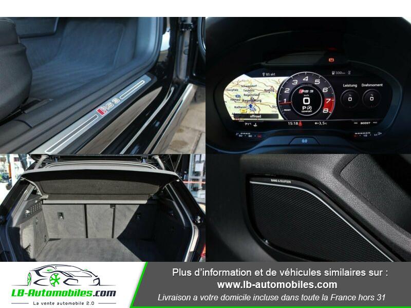 Audi RS3 Sportback 2.5 TFSI 400 S tronic 7 Quattro Noir occasion à Beaupuy - photo n°8