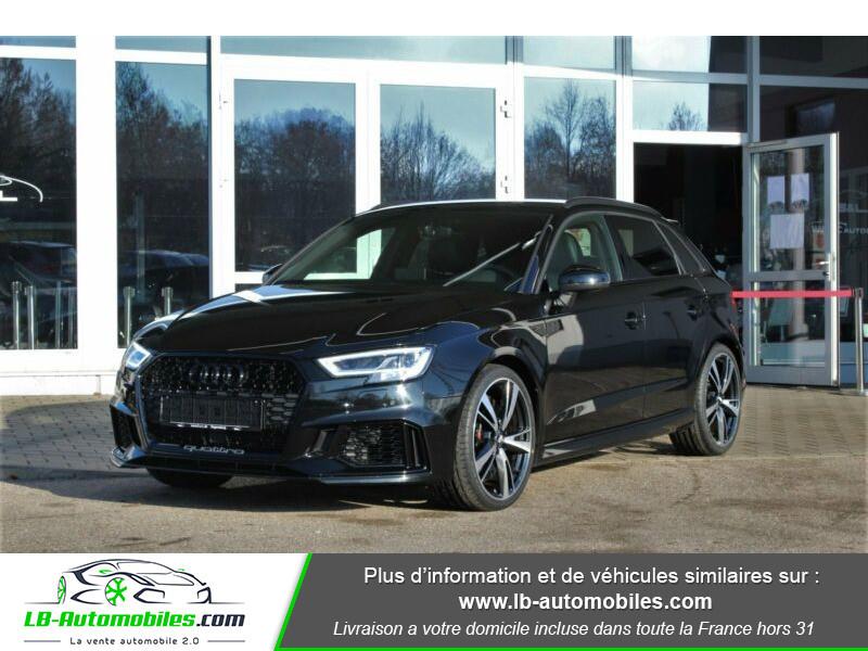 Audi RS3 Sportback 2.5 TFSI 400 S tronic 7 Quattro Noir occasion à Beaupuy - photo n°20