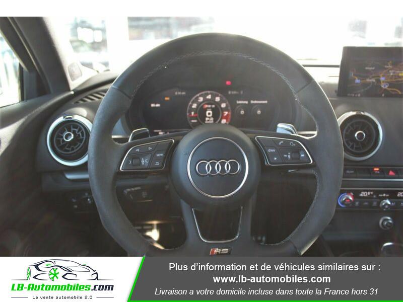 Audi RS3 Sportback 2.5 TFSI 400 S tronic 7 Quattro Noir occasion à Beaupuy - photo n°11