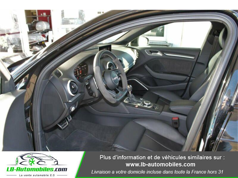 Audi RS3 Sportback 2.5 TFSI 400 S tronic 7 Quattro Noir occasion à Beaupuy - photo n°15