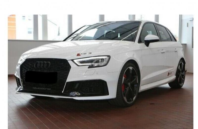 Audi RS3 Sportback 2.5 TFSI 400CH QUATTRO S TRONIC 7 Blanc occasion à Villenave-d'Ornon