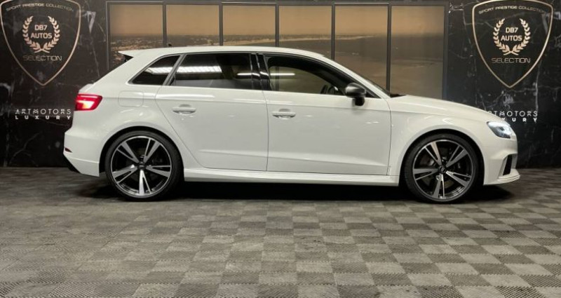 Audi RS3 2) SPORTBACK 2.5 TFSI 400 QUATTRO S TRONIC Blanc occasion à GUERANDE - photo n°2
