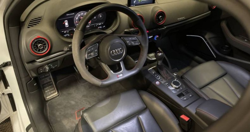 Audi RS3 2) SPORTBACK 2.5 TFSI 400 QUATTRO S TRONIC Blanc occasion à GUERANDE - photo n°7