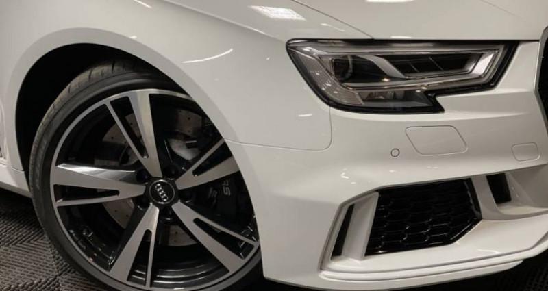 Audi RS3 2) SPORTBACK 2.5 TFSI 400 QUATTRO S TRONIC Blanc occasion à GUERANDE - photo n°4