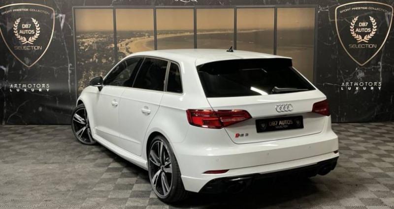 Audi RS3 2) SPORTBACK 2.5 TFSI 400 QUATTRO S TRONIC Blanc occasion à GUERANDE - photo n°3