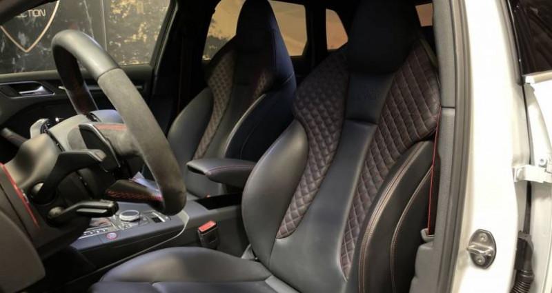 Audi RS3 2) SPORTBACK 2.5 TFSI 400 QUATTRO S TRONIC Blanc occasion à GUERANDE - photo n°6