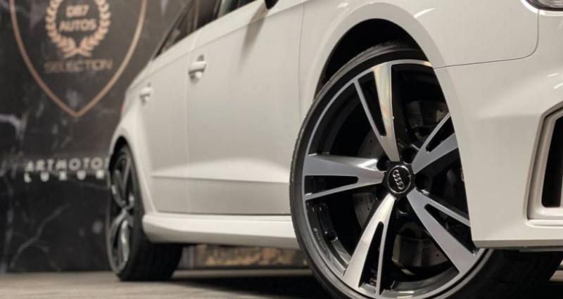 Audi RS3 2) SPORTBACK 2.5 TFSI 400 QUATTRO S TRONIC Blanc occasion à GUERANDE - photo n°5