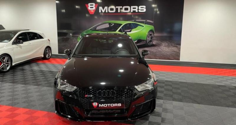 Audi RS3 2.5 TFSI 367 cv Echap RS Sièges RS Noir occasion à Saint Leonard - photo n°3