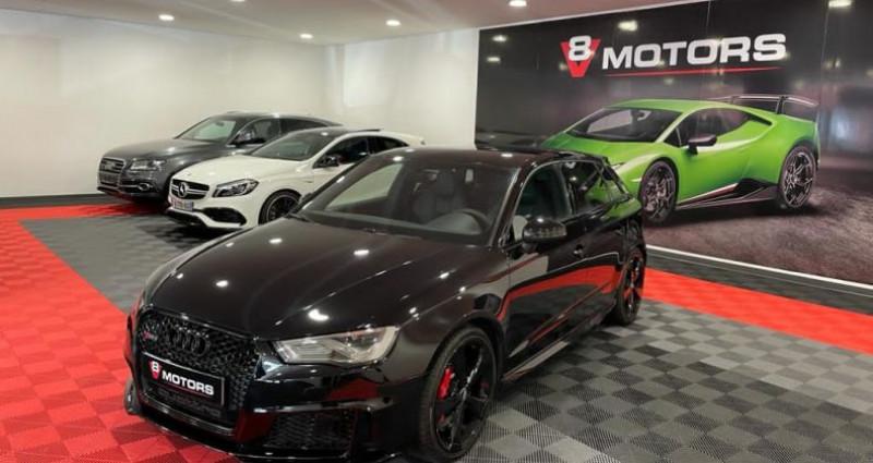 Audi RS3 2.5 TFSI 367 cv Echap RS Sièges RS Noir occasion à Saint Leonard