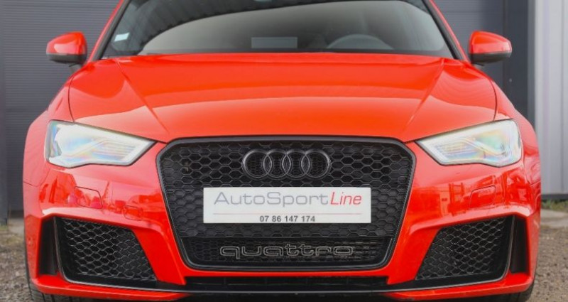 Audi RS3 2.5 TFSI quattro 367 cv Orange occasion à Bonneville - photo n°2