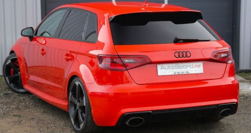 Audi RS3 2.5 TFSI quattro 367 cv Orange occasion à Bonneville - photo n°4