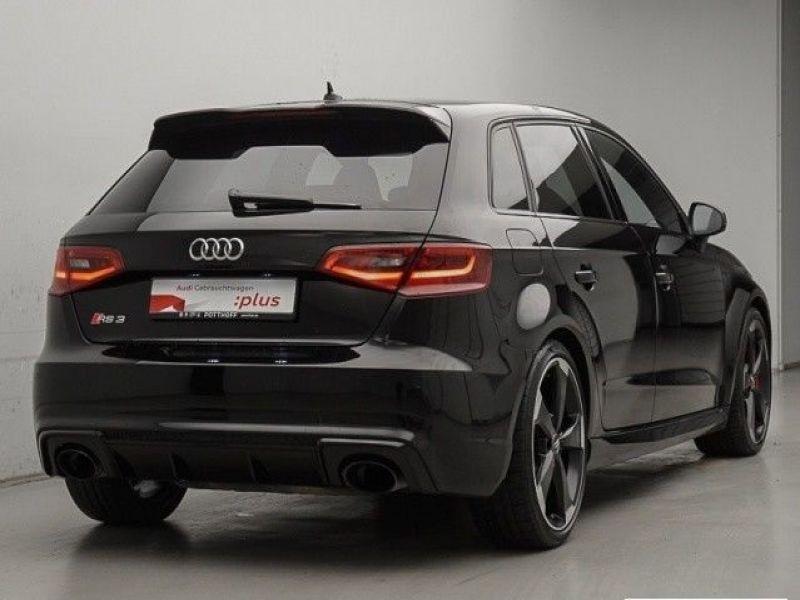 Audi RS3 2.5 TFSI quattro 367H Noir occasion à Beaupuy - photo n°3