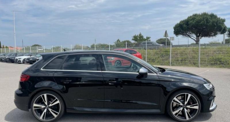 Audi RS3 2.5L TFSI 400CH QUATTRO S-TRONIC Noir occasion à RIVESALTES - photo n°6