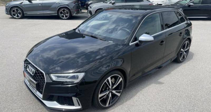 Audi RS3 2.5L TFSI 400CH QUATTRO S-TRONIC Noir occasion à RIVESALTES - photo n°2