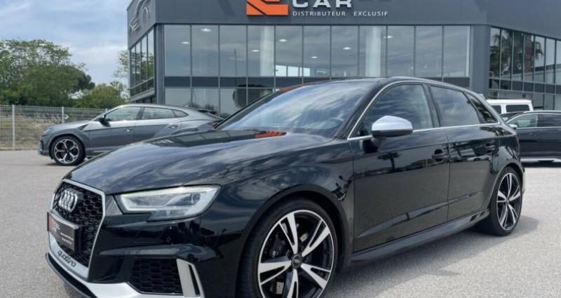 Audi RS3 2.5L TFSI 400CH QUATTRO S-TRONIC Noir occasion à RIVESALTES
