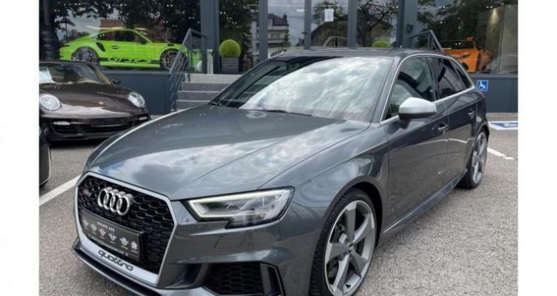 Audi RS3 Quattro 2.5 TFSI 400 CH Gris occasion à FOETZ