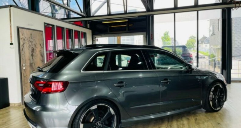 Audi RS3 Sportback 2.5 TFSI 367ch 4X4S tronic 7 Gris occasion à Boulogne-Billancourt - photo n°7